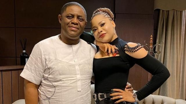Fani-Kayode and wife Precious