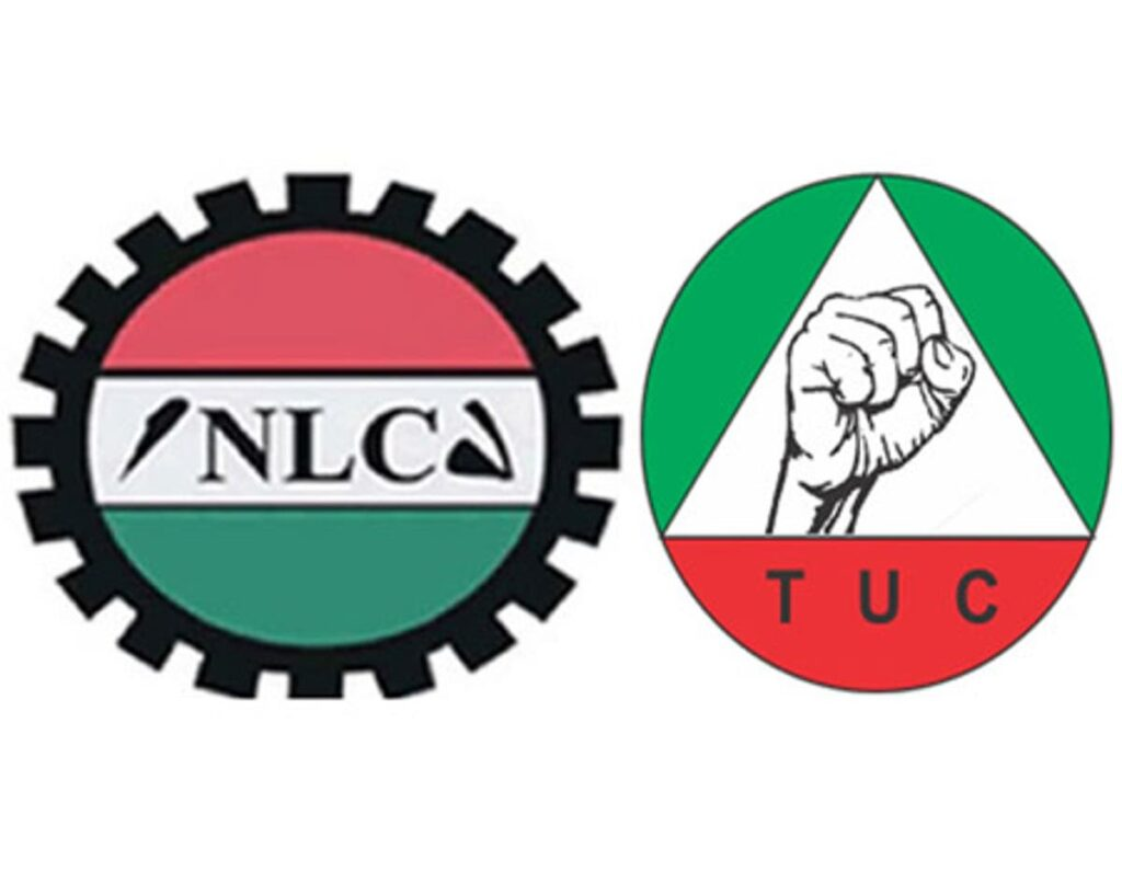 NLC and TUC Logos