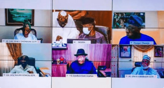 Buhari meets with former leaders
