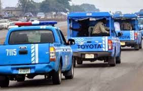 FRSC van in motion