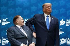 a male billionaire and a male president