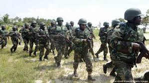 military on an operation