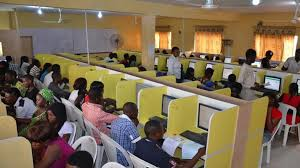 examination going on in a JAMB center