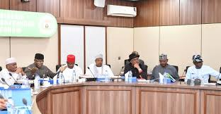 group of governors in a meeting