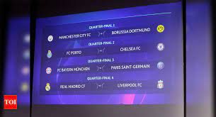 Bayern Draw PSG, Real Face Liverpool In Champions League Quarter Finals