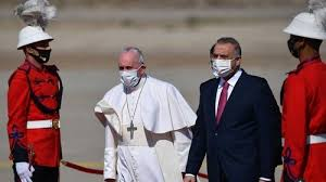 Pope Francis visiting Iraq