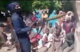 abducted school children wither their abductor