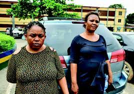 police arresting two women over the death of a man in Lagos state