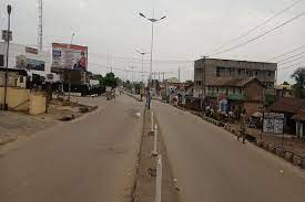 residents of Ebonyi state complies with the sit at home order