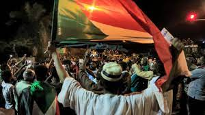 two people killed at a Sudan rally