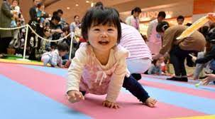 lowest birth rate in Japan