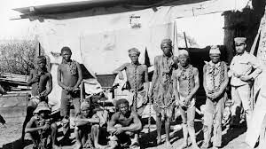 people of Namibia during the colonial rule