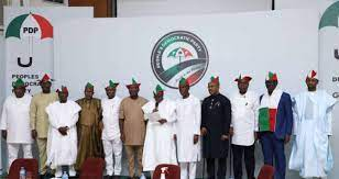 governors belonging to PDP
