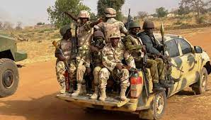 Nigerian troops in Sokoto state