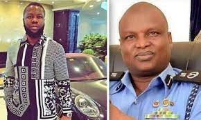 popular scammer with the deputy commissioner of police